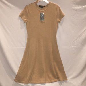 Ralph Lauren Black Label NWT Tan A-Line dress